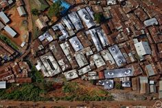 Street Artist JR - Rooftop Graffiti in Kenya | | Graffiti ...