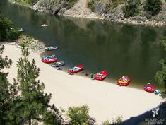Idaho has more miles of whitewater than any other state in the lower 48. Half and full day trips from Boise range from $45-110 per person. #rafting #visitidaho #boise http://bearfoottheory.com/the-wild-west/outdoor-idaho-adventures/