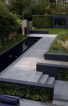 Philip Nixon Design, Primrose Hill, @philipnixondesign #philipnixondesign #Moderngardendesign