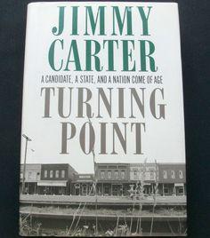 Jimmy Carter Turning Point 1992 HC DJ (121614-1457) history, presidental, 1st ed - $3.00