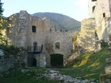 Ruins of Likavsky castle, in Likavka. Just next to my hometown Ruzomberok. Know this place very well.