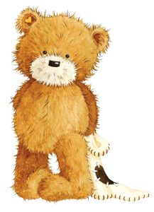 Image detail for -Popcorn the Bear and his friends are together in a fabric line and ...