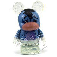 "Disney Vinylmation 3"" 25th Anniversary Light Up Eeyore Figure"