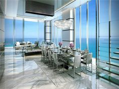 Penthouse Dining Room at Turnberry Ocean Club