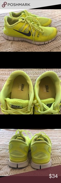 Nike Free Sneakers Size 7.5 These Nike Free Sneakers are in very good preowned condition.  They are a Size 7.5.  They are very light. Nike Shoes Sneakers
