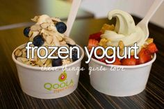 Frozen yogurt - justgirlythings