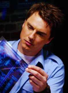 From Torchwood: Jack.  I have serious love for that sexy bi ex-Time Agent!  I can't wait to start watching Torchwood, as soon as I finish all of the new Who.