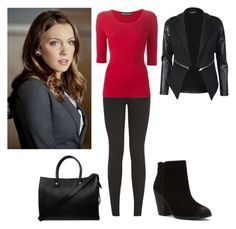 Laurel Lance by charmedgreys on Polyvore featuring Dolce&Gabbana, Report and Paul & Joe