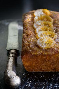 Lemon & Cardamom Cake