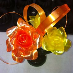 These look amazing! The sugar must have been stretched so thin and delicately to make the ribbons, especially the ones on the side!