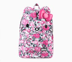Hello Kitty 3D Backpack: Rose Garden