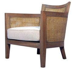 Jeffan Mumba Fabric Lounge Chair - very similar to the Crate and Barrel Blake Chair - $120 less