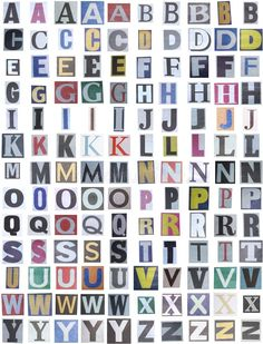 Photo about Big size clipping alphabet (cutout from newspapers and magazines) with numbers and symbols, isolated on white background. Carta Collage, Collage Mural, Word Collage, Magazine Collage, Magazine Art, Journal Stickers, Aesthetic Stickers, Graphic Design Posters, Cute Stickers