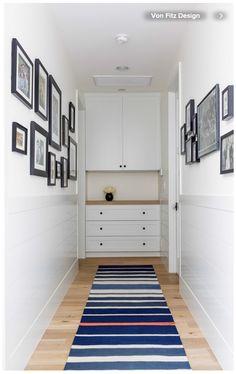 end of hallway linen