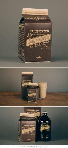 Stumptown Coffee Roasters: Cold Brew Coffee with Milk