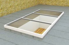 flat roof for conservatory/extension