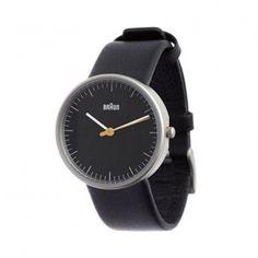 #21 Damen-Uhr - Schwarz/Leder