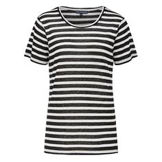 New Arrivals | Keep Me Stripe Linen Tee.  #frenchconnectionau #fcuk 4w