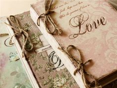 Shabby Chic romantic boxes..