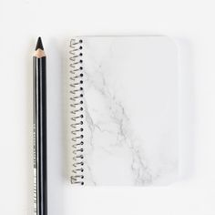 Marble print notebook square by MyDubio on Etsy, €3.50