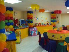 Decoración de fiestas infantiles elmo - Imagui