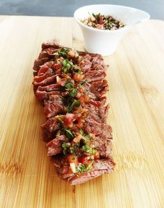 Bavette op de BBQ met chimichurri – Bavette on the BBQ with chimichurri – Thomas Culinair. Making Bavette on the T Bone Steak, Barbecue Recipes, Grilling Recipes, Grilling Tips, Bbq Tips, Meat Cooking Times, Cooking Games, Barbeque Sides, Ciabatta