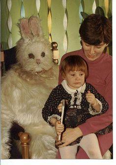 Easter bunny looks like road kill!