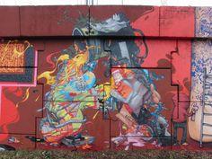 Piece Par Jaw - Massy (France) - Street-art et Graffiti | FatCap