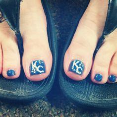 Kc Royals toes
