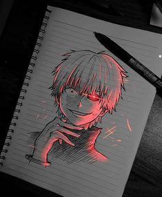 Anime Drawings Sketches, Cool Art Drawings, Anime Sketch, Tokyo Ghoul Cosplay, Anime Character Drawing, Character Art, Otaku Anime, Tokyo Ghoul Drawing, Photo Manga
