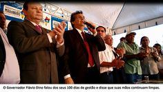 EDGAR RIBEIRO: GOVERNADOR FLÁVIO DINO VÊ A EXUBERÂNCIA AGRÍCOLA D...