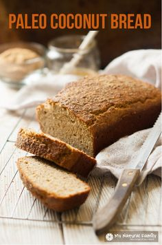 This Paleo coconut flour bread looks and tastes so similar to a honey wheat bread, thanks to the honey and flax meal.