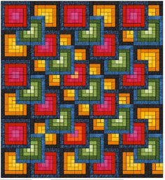 Serendipity, is my newest fabric collection for Troy's Riverwoods Collection! SERENDIPITY is inspired by my love for color gradations, beautiful textures and lovely colors. Broderie Bargello, Bargello Quilts, Graph Paper Drawings, Graph Paper Art, Cross Stitch Patterns, Quilt Patterns, Double Quilt, Bright Quilts, Pixel Crochet