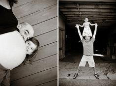 Super Fun and Silly Family & Maternity Session - On to Baby