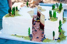 Grand Canyon Wedding Cake