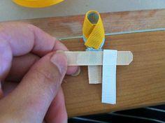 Grosgrain: LAST DAY! Day 13: Cinderella Disney Inspired Princess Ribbon Sculpture Pattern