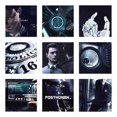 Detroit become human Connor aesthetics