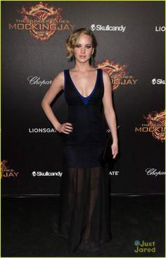 Jennifer Lawrence at 'Mockingjay Part I' Cannes Party!