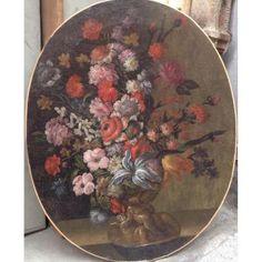 Bouquet De Fleurs XVIIIeme