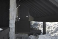 Galeria de Casa Invertida / The Oslo School of Architecture and Design + Kengo Kuma & Associates - 11 Local Contractors, Construction Drawings, Kengo Kuma, Open Field, School Architecture, Oslo, Exterior, Gallery, House