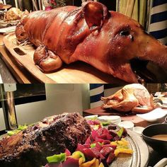 We've spread out a #christmas #feast YULE love and for tomorrow too at @pusobistro It's never too late to make reservations #nochebuena #christmasday #pinoy #lechon #buffet #whenincebu #pusobistro