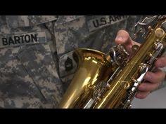 USArmyFieldBand: Noisy Keys: Saxophone Instrument Repair .
