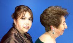 Corte Hongo o Garzon paso a paso - Corte de pelo en capas cortas 1 de 2 ...