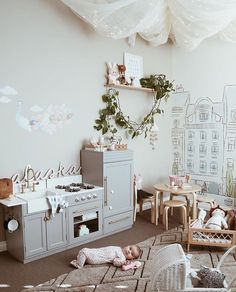 Loft Playroom, Playroom Decor, Baby Decor, Kids Decor, Home Decor, Toy Rooms, Kids Rooms, Room Kids, Kids Room Design