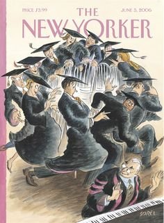 Edward Sorel | The New Yorker Cover 2006
