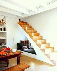 I would love a little Cupboard Under The Stairs like in Harry Potter—not as a bedroom, just an extra little getaway cave.