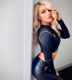 Happy Monster, Monster Energy Girls, Monster Girl, Tight Leather Pants, Sexy Women, Beautiful Women, Bodycon Dress, Lady, Celebrities