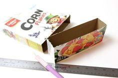 Create Your Own Cardboard Box Desk Drawer Organizers Desk Drawer Organisation, Diy Drawer Organizer, Drawer Organisers, Diy Organization, Organisation Ideas, Organizing Ideas, Cardboard Box Crafts, Paper Crafts, Diy Crafts