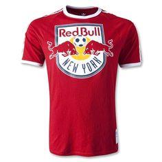 New York Red Bulls Classic Trefoil T-Shirt  #New York Red Bulls