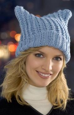 Free Knitting Pattern - Hats: Floppy Hat